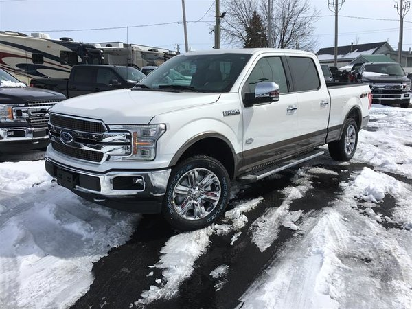 2018 Ford F150 4x4 - Supercrew King Ranch - 157