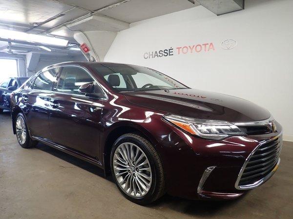 2017 Toyota Avalon Limited + Garantie PEA