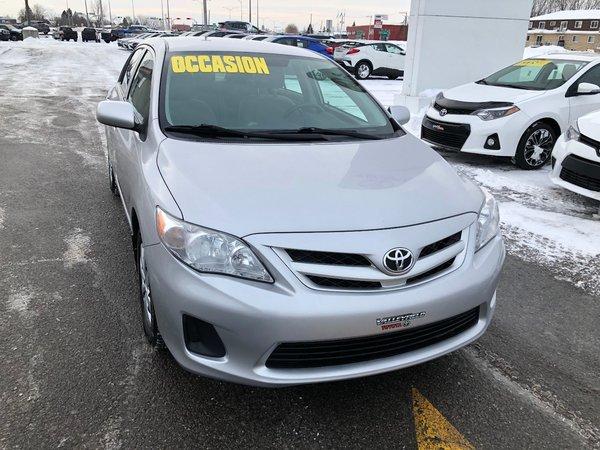 Toyota Corolla CE,AIR 2012