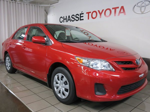 Toyota Corolla Groupe Commodité 2013