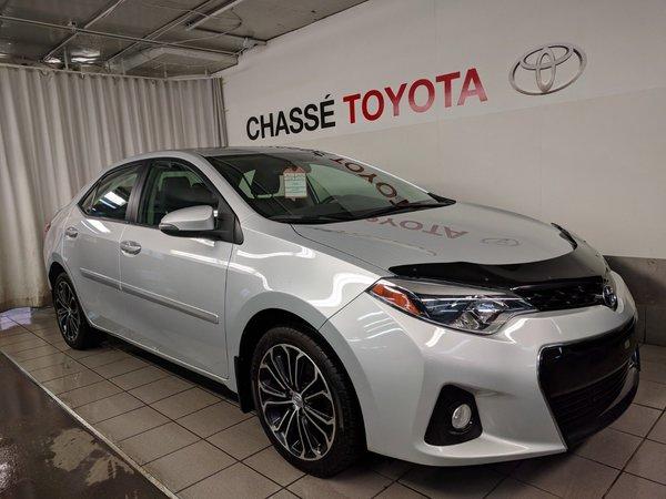 2014 Toyota Corolla S Groupe Amélioré Toit + Mags