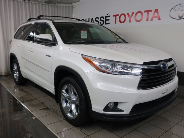 2015 Toyota Highlander hybrid Limited + Garantie PEA