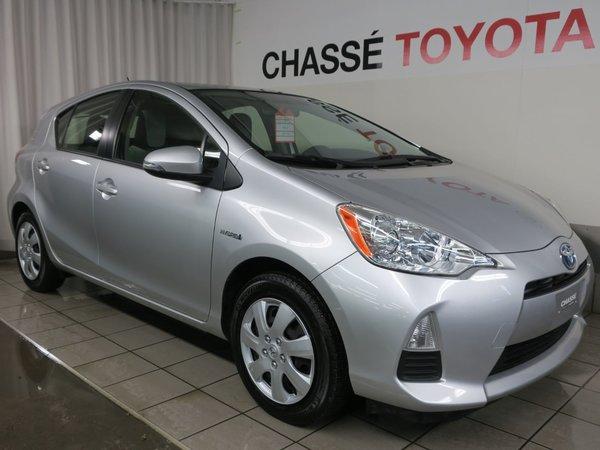 2014 Toyota Prius C + Garantie PEA