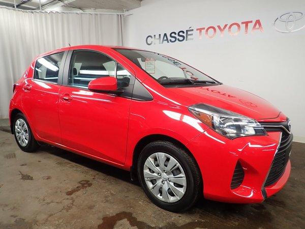 Toyota Yaris Hatchback Gr. Commodité + Garantie Prolongée 2015