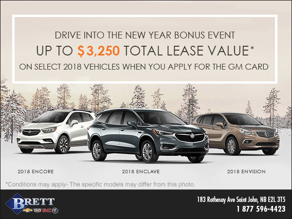 Buick's Drive Into the New Year Bonus Event