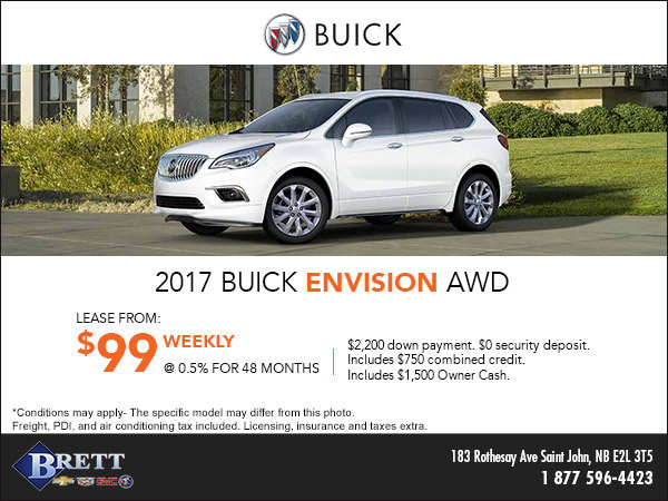 Save on the 2017 Buick Envision AWD