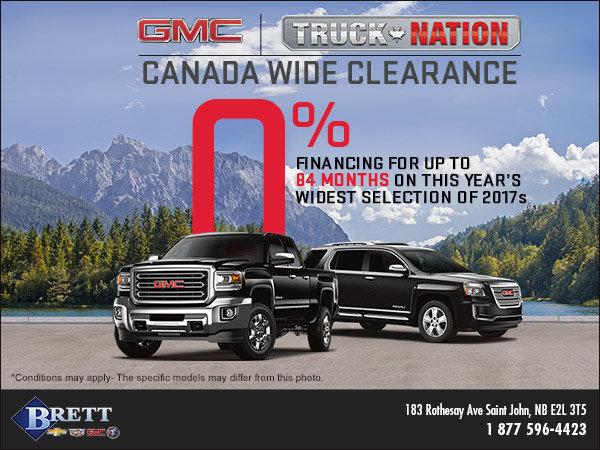 GMC Truck Nation Event