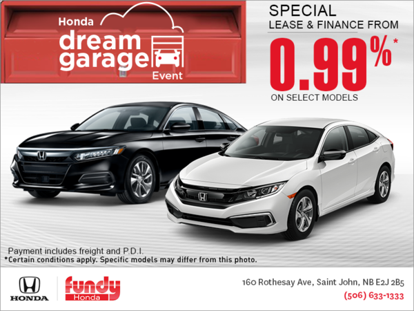 The Honda Monthly Event!