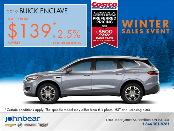 Lease the 2019 Buick Enclave