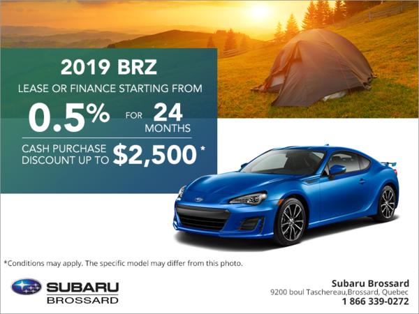 Get the 2019 BRZ today! | Subaru Brossard
