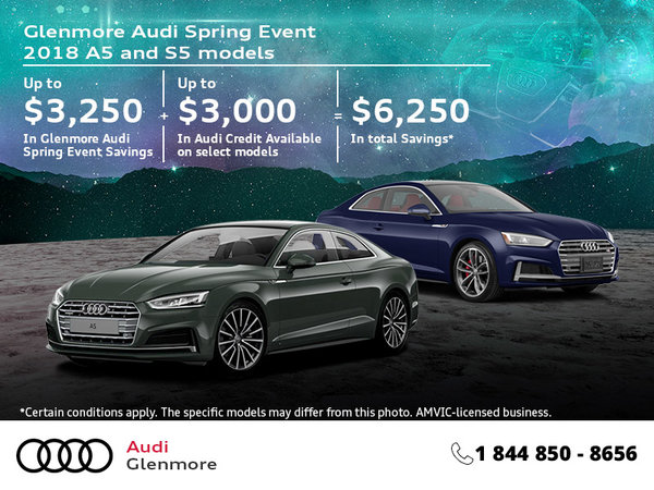 Get the 2018 Audi A5 Coupe Today!