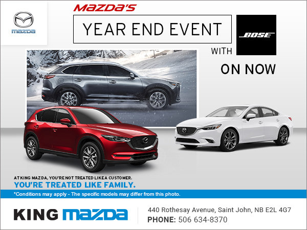 Mazda's Year End Event with Bose