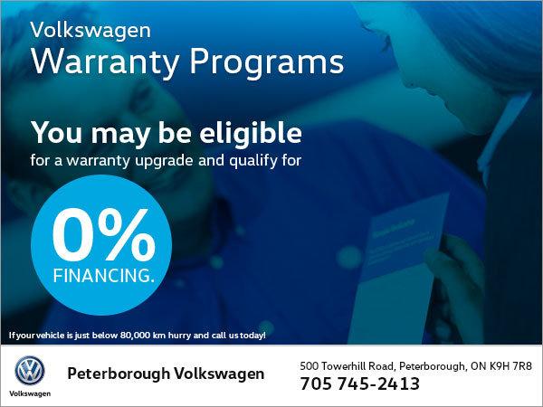 Peterborough Volkswagen Warranty Program