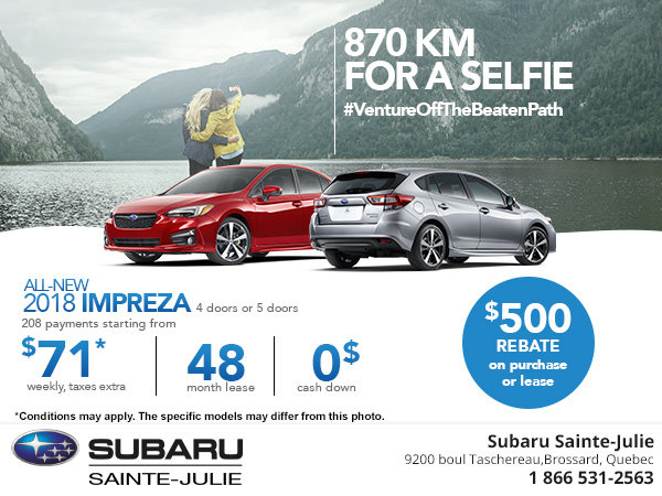 Save on 2018 Subaru Impreza!