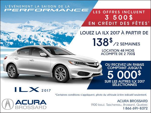 Acura ILX 2017 en location