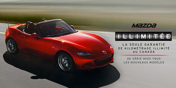 Mazda Kilométrage Illimitée