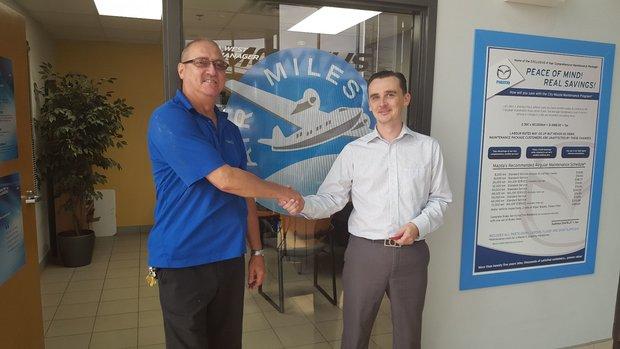5,000 Air Miles Winner for August!