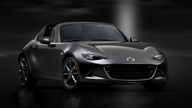 Production begins on the all-new Mazda MX-5 RF