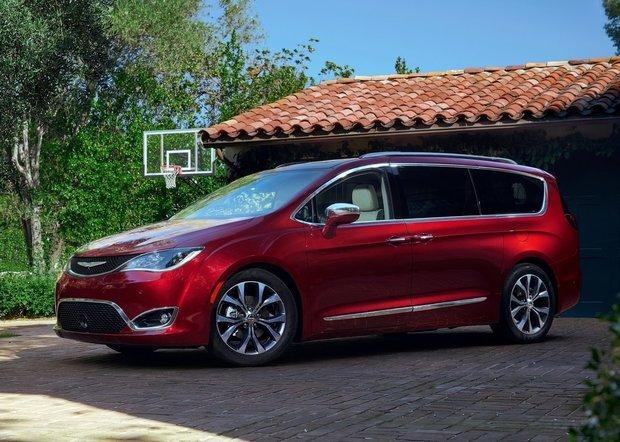 Chrysler Pacifica 2017 : le grand retour à Détroit