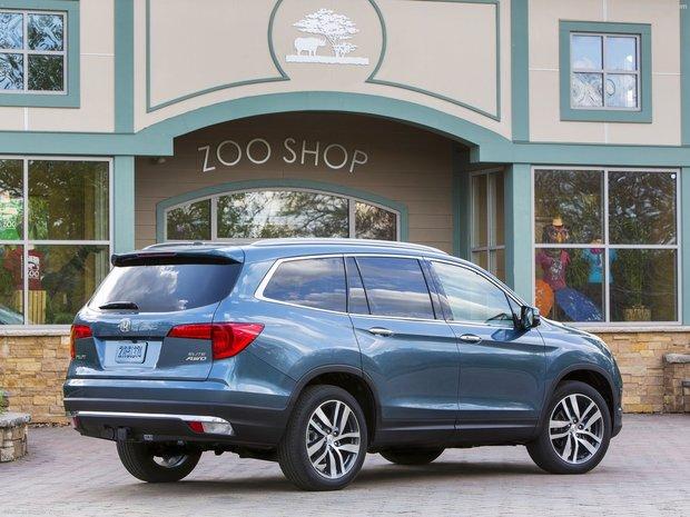 Honda dévoile les prix du Honda Pilot 2016