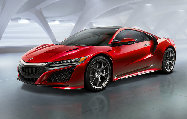 2017 Acura NSX: Increadible Performance in a Refined and Efficient Package