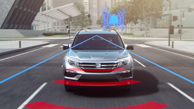 Voir les différentes technologies Honda Sensing en action