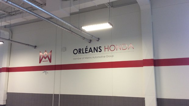 Thank you Orleans Honda!