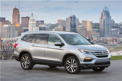 2017 Honda Pilot: Great in the city and ready for the country