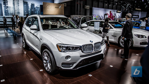 BMW X3 2015: Taille parfaite