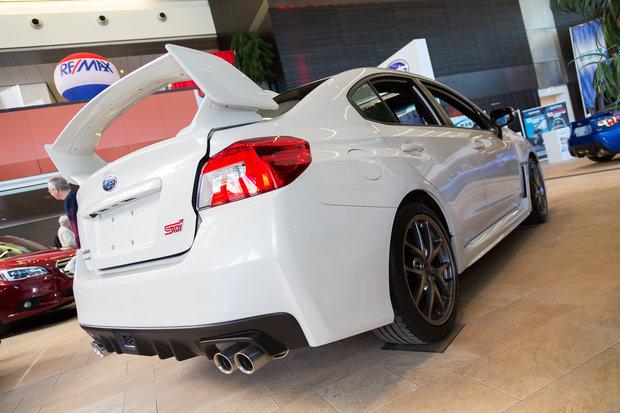 Ottawa Auto Show: 2015 Subaru WRX & WRX STI