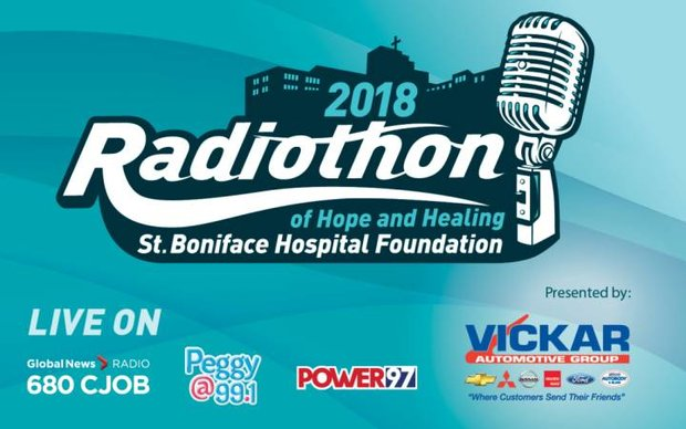 VICKAR AUTO GROUP SUPPORTING  UPCOMING ST. BONIFACE HOSPITAL FOUNDATION RADIOTHON