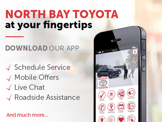 North Bay Toyota at your fingertips - Mobile App