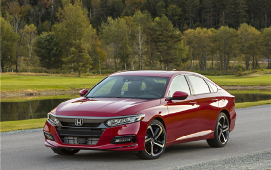 2018 Honda Accord Named North American Car Of The Year In Detroit