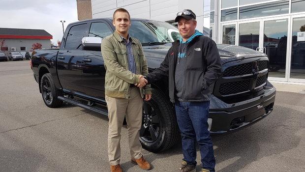 Merci à M. Francois Charest propriétaire de Protection Incendie Xpert pour l'acquisition de son Ram 1500 Big Horn 2018 ecodiesel. Bonne route !