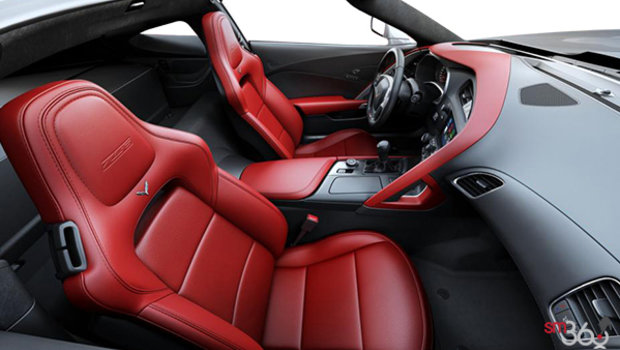 Adrenaline Red Mulan Perforated Leather