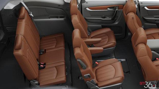 Saddle/Ebony Perforated Leather