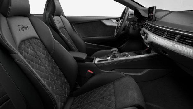 Black Valcona Leather with RS logo w/Rock Grey Diamond Stitching