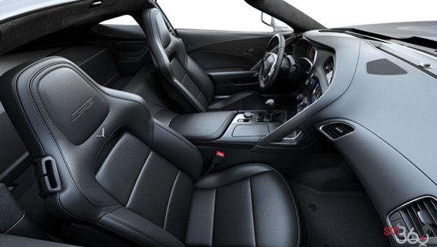 Jet Black GT buckets Perforated Napa leather seating surfaces (195-AQ9)
