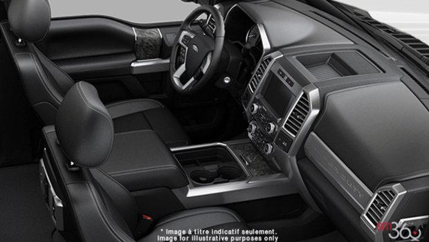 Black Premium Leather Split Bench (6B)