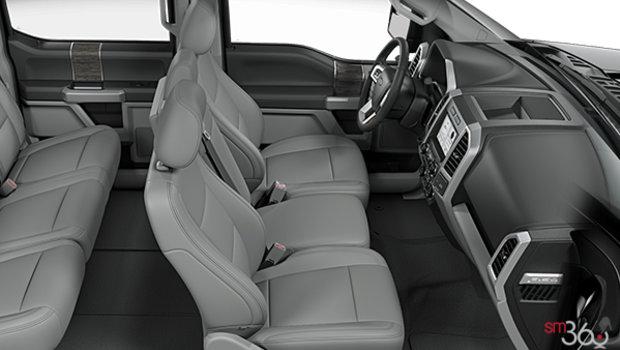 Medium Earth Grey Leather Bench (EG)