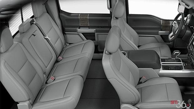 Medium Earth Grey Leather Buckets Seats (HG)
