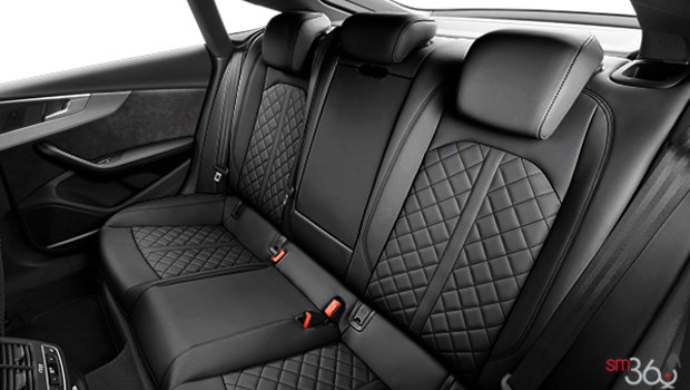 Black with Rock Grey stitching Nappa Leather