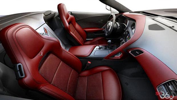 Sièges baquets GT en cuir napa perforé rouge épice (755-AQ9)