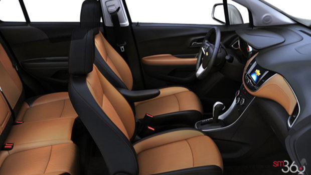 Jet Black/Brandy Bucket seats Deluxe Cloth/Leatherette (AEV-AR9)