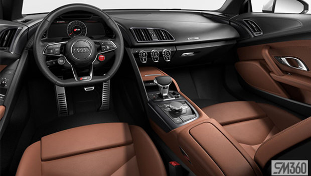 Palomino Brown Nappa Leather Sport Seats/Steel Gray Stitching