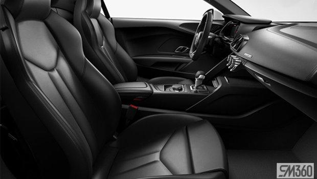 Black Nappa Leather Sport Seats/Black Stitching