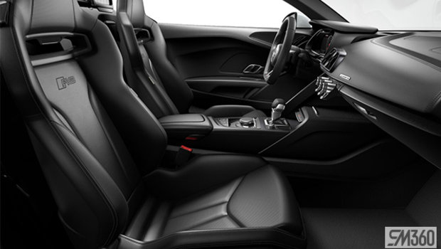 Black/Rock Grey Stitch Nappa Leather Buckets Seats