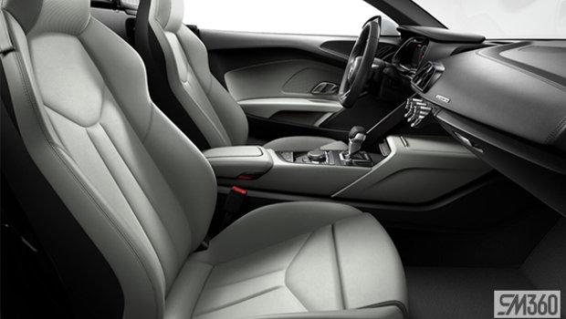 Pastell Silver/Rock Grey Stitch Nappa Leather Sport Seats