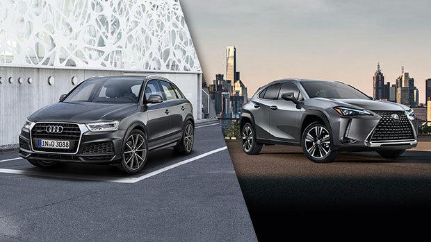 Audi Q3 2018 vs Lexus UX 2019 à Montréal