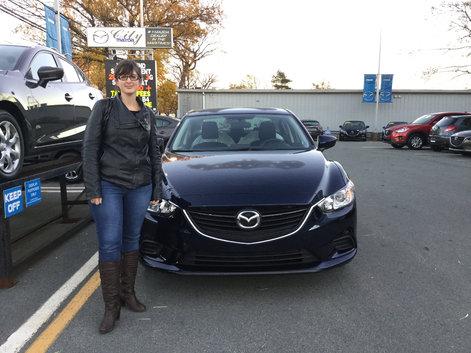 My new Mazda 6